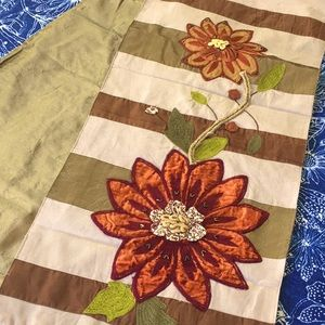"""Pier One Fall Floral 70"""" Table Runner"""